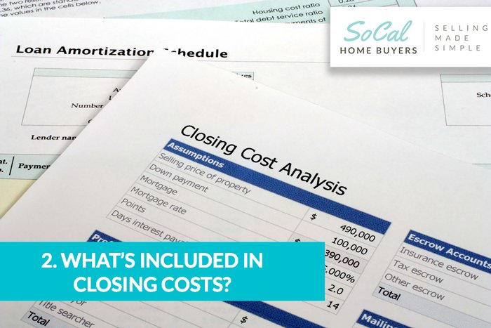 What's included in closing costs?